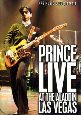 Prince Live at the Aladdin Las Vegas - 11 x 17 Movie Poster - Style A