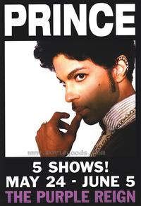 Prince - 43 x 62 Movie Poster - Bus Shelter Style A