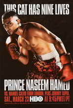 Prince Naseem Hamed vs Manuel Calvo - 11 x 17 Boxing Promo Poster - Style A