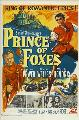 Prince of Foxes - 11 x 17 Movie Poster - Style A