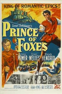 Prince of Foxes - 27 x 40 Movie Poster - Style A