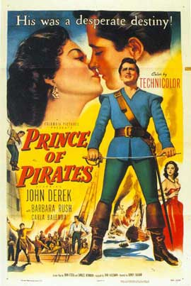Prince of Pirates - 11 x 17 Movie Poster - Style B