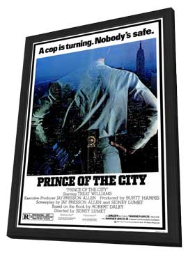 Prince of the City - 27 x 40 Movie Poster - Style A - in Deluxe Wood Frame