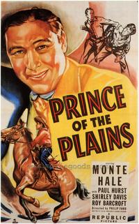 Prince of the Plains - 43 x 62 Movie Poster - Bus Shelter Style A