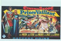 Prince Valiant - 14 x 22 Movie Poster - Belgian Style A