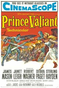 Prince Valiant - 27 x 40 Movie Poster - Style A