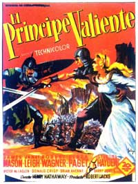 Prince Valiant - 11 x 17 Movie Poster - Spanish Style A