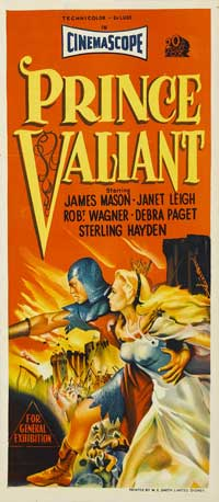 Prince Valiant - 13 x 30 Movie Poster - Australian Style A
