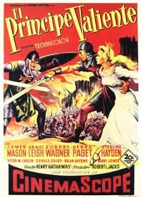 Prince Valiant - 11 x 17 Movie Poster - Spanish Style B