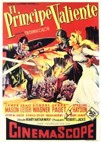 Prince Valiant - 27 x 40 Movie Poster - Spanish Style A