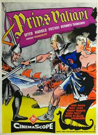 Prince Valiant - 11 x 17 Movie Poster - Danish Style A