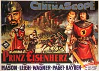 Prince Valiant - 11 x 17 Movie Poster - German Style A
