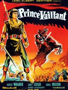 Prince Valiant - 11 x 17 Movie Poster - French Style B