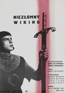 Prince Valiant - 11 x 17 Movie Poster - Polish Style A