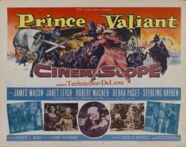 Prince Valiant - 22 x 28 Movie Poster - Half Sheet Style A