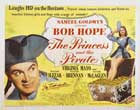 The Princess and the Pirate - 22 x 28 Movie Poster - Half Sheet Style A