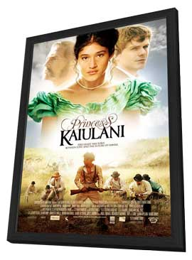 Princess Kaiulani - 11 x 17 Movie Poster - Style A - in Deluxe Wood Frame
