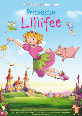 Princess Lillifee - 27 x 40 Movie Poster - German Style A