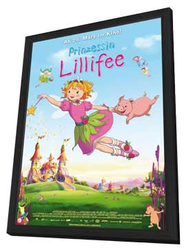 Princess Lillifee - 11 x 17 Movie Poster - German Style A - in Deluxe Wood Frame