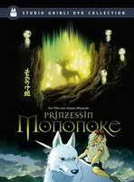 Princess Mononoke - 11 x 17 Movie Poster - German Style A
