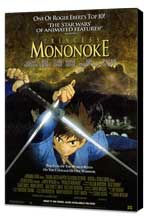 Princess Mononoke - 11 x 17 Movie Poster - Style B - Museum Wrapped Canvas