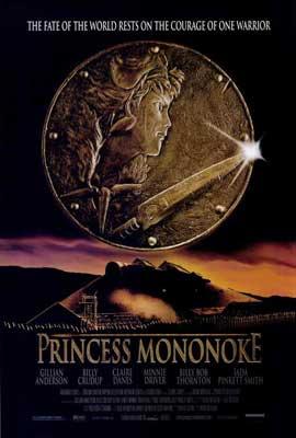 Princess Mononoke - 27 x 40 Movie Poster - Style A