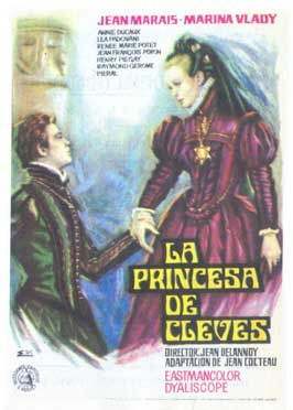 Princess of Cleves - 11 x 17 Movie Poster - Spanish Style A