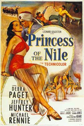 Princess of the Nile - 11 x 17 Movie Poster - Style A