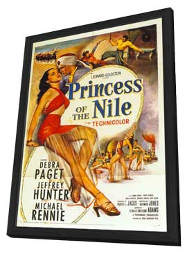 Princess of the Nile - 27 x 40 Movie Poster - Style A - in Deluxe Wood Frame