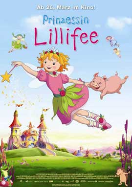 Prinzessin Lillifee - 27 x 40 Movie Poster - German Style A