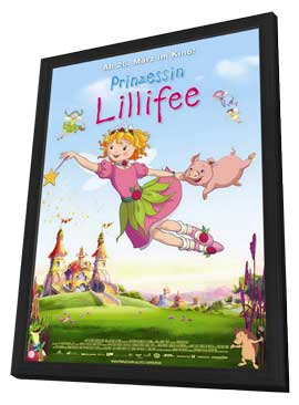 Prinzessin Lillifee - 11 x 17 Movie Poster - German Style A - in Deluxe Wood Frame