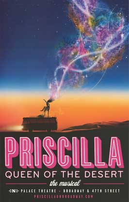 Priscilla Queen of the Desert (Broadway) - 14 x 22 Poster - Heavy Stock