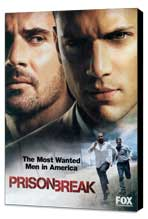 Prison Break (TV) - 11 x 17 TV Poster - Style E - Museum Wrapped Canvas