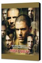 Prison Break (TV) - 11 x 17 TV Poster - Style K - Museum Wrapped Canvas