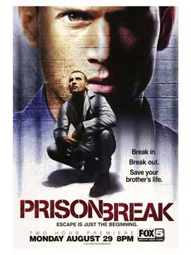 Prison Break (TV) - 30 x 40 TV Poster - Style B