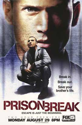 Prison Break (TV) - 11 x 17 TV Poster - Style C