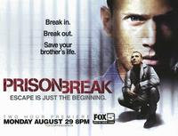 Prison Break (TV) - 46 x 60 TV Poster - Subway Style A