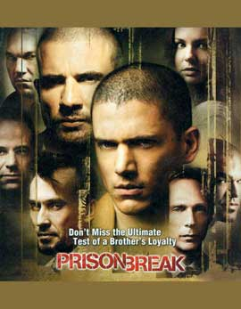 Prison Break (TV) - 11 x 17 TV Poster - Style K