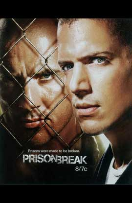 Prison Break (TV) - 11 x 17 TV Poster - Style F