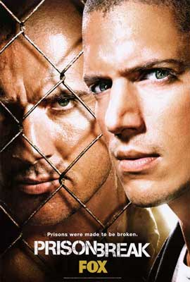 Prison Break (TV) - 27 x 40 TV Poster - Style E