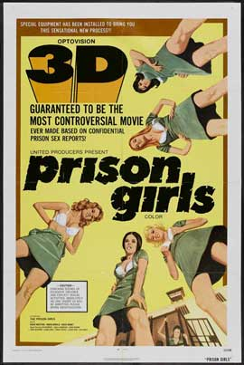 Prison Girls - 11 x 17 Movie Poster - Style A