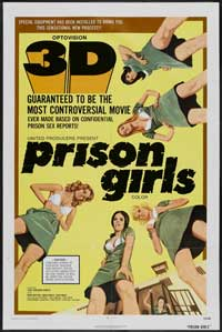 Prison Girls - 43 x 62 Movie Poster - Bus Shelter Style A
