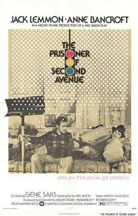 Prisoner of Second Avenue - 11 x 17 Movie Poster - Style A
