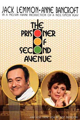 Prisoner of Second Avenue - 11 x 17 Movie Poster - Style B