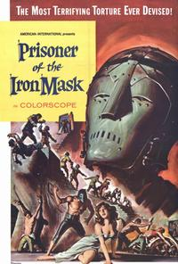 Prisoner of the Iron Mask - 11 x 17 Movie Poster - Style A
