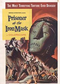 Prisoner of the Iron Mask - 27 x 40 Movie Poster - Style A