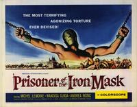 Prisoner of the Iron Mask - 22 x 28 Movie Poster - Half Sheet Style A
