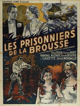 Prisoner of the Jungle - 11 x 17 Movie Poster - French Style A