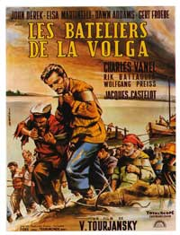 Prisoner of the Volga - 11 x 17 Movie Poster - French Style A