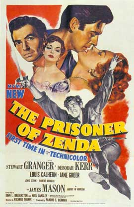 Prisoner of Zenda - 11 x 17 Movie Poster - Style B